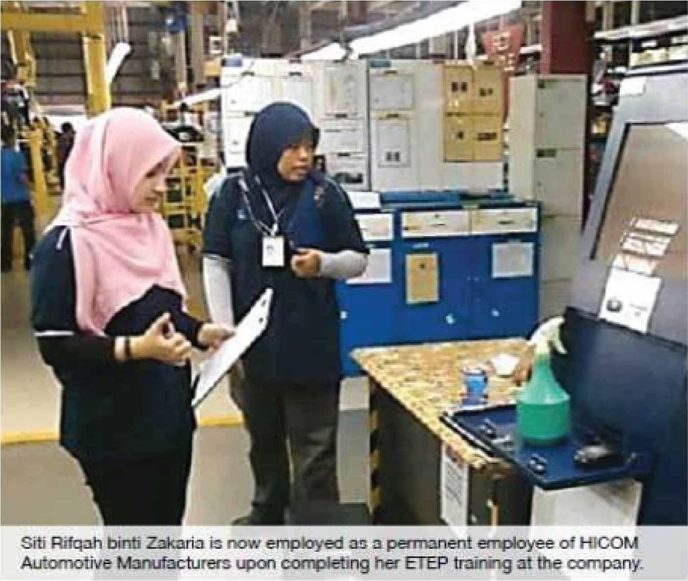 Securing Employment through ETEP