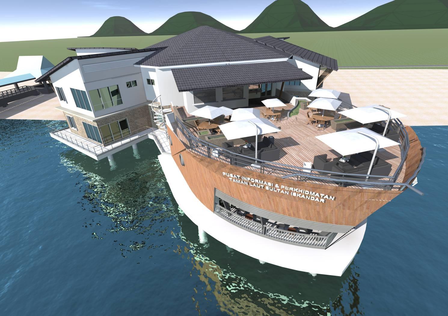 Pusat Informasi & Perkhidmatan Taman Laut Sultan Iskandar